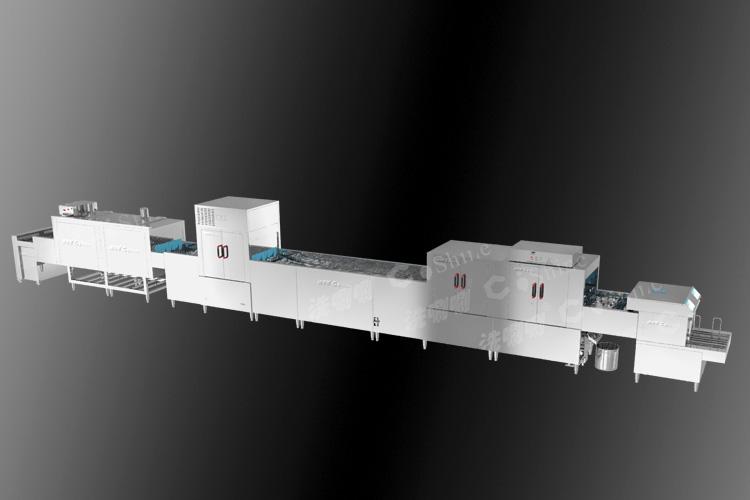 全自动送盘烘干消毒超声波洗碗机<br> 型号:SP11SUP76H30D06